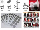 Nespresso coffee compatible reusable refillable empty Capsules pods stickers