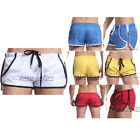 Swimming Mens Style Trunks Drawstring Short Fitted Trousers Hot Underwear JS