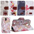 Flip PU Leather Patterned Wallet Case Cover for Samsung Galaxy S4 Mini i9190
