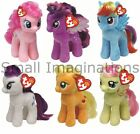 Buddy Size My Little Pony 11 inch Ty Plush Beanie Babies - Soft Plush Toy Teddy