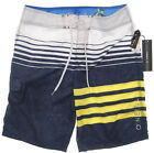 NEW O'neill PACSUN Stripe mens Boardshort surf beach sz 33/34/36