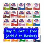 FIMO EFFECT POLYMER MODELLING CLAY OVEN BAKE 57g *BUY 5 - GET ONE FREE!*