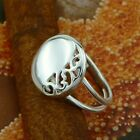 STERLING SILVER RING SOLID.925 /NEW JEWELERY  SIZE J - U