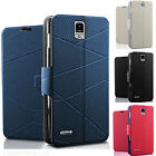 LUXURY LEATHER PHONE FLIP STAND CASE COVER POUCH FOR SAMSUNG GALAXY S5 i9600