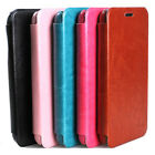 FLIP LUXURY LEATHER CASE BATTERY HOUSING BACK COVER FOR SAMSUNG GALAXY S5 i9600