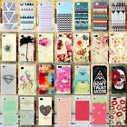 New Cute Various Pattern Hard  Back Skin Case Cover for Apple Iphone 5S 5G 5 4S
