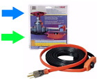 EASY HEAT AHB Electric Water Pipe Freeze Proof Heated Cable Tape *PICK SIZE* New