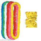 Hawaiian Tropical Plastic Lei Leis Fancy Dress Garland BBQ Party Supplies Bulk