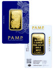 PAMP Suisse 1 Troy Oz .9999 Gold Bar Fortuna w VeriScan Assay Cert. SKU27398