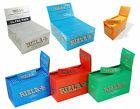 Rizla Standard + Slim Rolling Papers Smoking Booklets Blue Slim Silver Green Red
