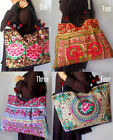 E657S IN STOCK  THAILAND BAGS PURSES  BIG POM-POM EMBRODERY OVERSIZE FLATTERING