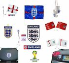 ENGLAND Football  - CAR FLAGS - Official FIFA WORLD CUP & UEFA EURO Merchandise