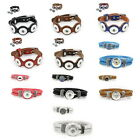 1PC Mixed DIY Fashion Jewelry Bracelet Fit Snap Buttons M2076
