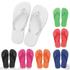 Flip Flops Womens SPA Sandals Wedding Party Favour Shoes Plain 10 pairs