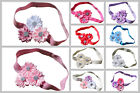 Newborn Baby Girl Daisy Flower Headband Infant Toddler Kid Hair Band Many Design