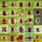 Gift Of Love Aaa Ruby Spinel Gemstone Silver Ring Sz 6 7 8 9 10 11 12 Free Ship