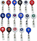 MLB badge reel lanyard RETRACTABLE PICK YOUR TEAM