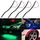 4x Waterproof 30cm 15-LED Car Trucks Motor Grill Flexible Light Strips 4 colors