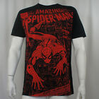 Authentic THE AMAZING SPIDER-MAN Spider Or The Man Slim Fit T-Shirt S-2XL NEW