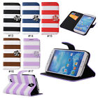 Rainbow Magnetic PU Stand Flip Wallet Case Cover For Samsung Galaxy S4 IV i9500