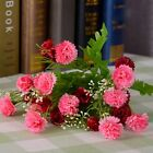 Decorate Artificial 6 Branchs Carnation Wedding Home Party Silk 23Flowers