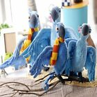 "10""/14""RIO MOVIE CHARACTER PLUSH STUFFED TOY 10"" MACAW BLU or JEWELS"