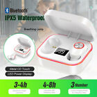 Bluetooth Fitness SmartWatch Bracelet Color Screen Waterproof iPhone iOS Android