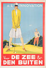 Vintage rare A L'Innovation French ad print poster, large 4 sizes available