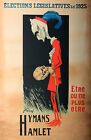 Vintage Hamlet French ad print poster, large 4 sizes available