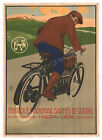 Fabrique National Vintage French print poster, large 4 sizes available