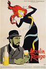 Moulin Rouge Vintage French advertisement print poster- 4 large sizes available