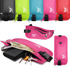 Travel Waist Pack Belt Bum Sport Bag Zipped Passport Wallet Pouch Earphone Port