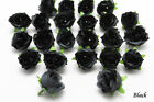 50X 100X 500X Roses Artificial Silk Flower Head Wholesale Lots Wedding decor F35