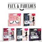 Bourjois Faux & Fabulous False EyeLashes Lady In Black,Miss Couture,Rock Chic