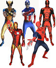 MARVEL Superhero Original Genuine MORPHSUIT MORPHSUITS Fancy Dress Costume