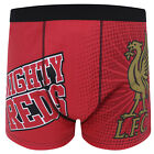 Liverpool FC Official Gift Mens Crest Boxer Shorts YNWA Liverbird (RRP £9.99!)