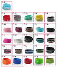 New European Jewelry Swarovski 26 COLORS Crystals Leather Bracelet
