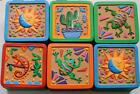 TRINKET BOX Sun Moon Cactus Frog Iguana for Paper Clips Jewelry Rings Etc