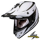 NEW SCORPION VX-34 SPIKE MX DIRT BIKE MOTOCROSS HELMET WHITE ALL SIZES