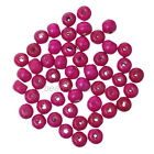 300pcs New  Round Wood Ball Spacer Loose Beads for Jewelry 9 colors 7*8mm