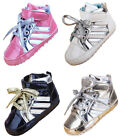 Infant Toddler Baby Boy Girl High Top Crib Shoes Sneakers Newborn to 18 Months