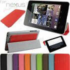 Slim Folding Book Leather Stand Case Cover For iPad 6/5/4/3/2 Samsung Tab, Note