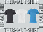 Mens Brushed Thermal Underwear Short Sleeve Vest T-Shirt M,L,XL