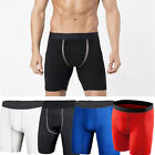 Men's Sport Athletic Wear Compression Tight Under Base Layer Elastic Short Pants
