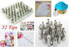 Icing Piping Nozzle Cupcake Tip Bag Fondant Cake Decorating Sugar Craft Tools #F