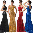 2014 Sequins Mermaid Formal Evening Long Gown Party Ball Bridesmaid Dresses GK