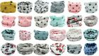 Kid Boy Girl Multi Use Function Neck Warmer Scarf Hat Polka Dots Bunny Stars
