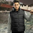 2786 Mens Versatile Padded Quilted Sleeveless Jacket Outdoor Bodywarmer S-3XL