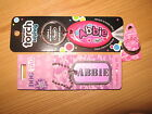 Bundle of Girls Named Items Door Sign Dog Tags Rings Notepads Keyrings - A to D