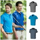 Henbury Coolplus Piped Mens Polo Shirt Mans Short Sleeve Sports Wicking Top New